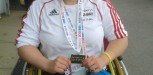 Jade Another Gold At The School Games 2013 For Seated Shot