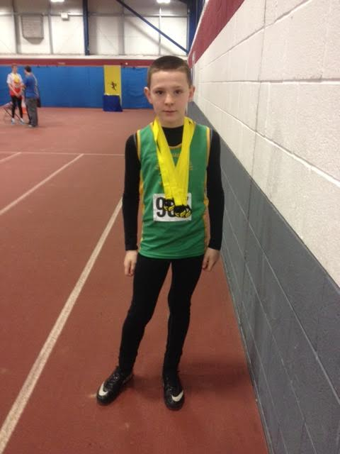 Jake With His 3 Medals