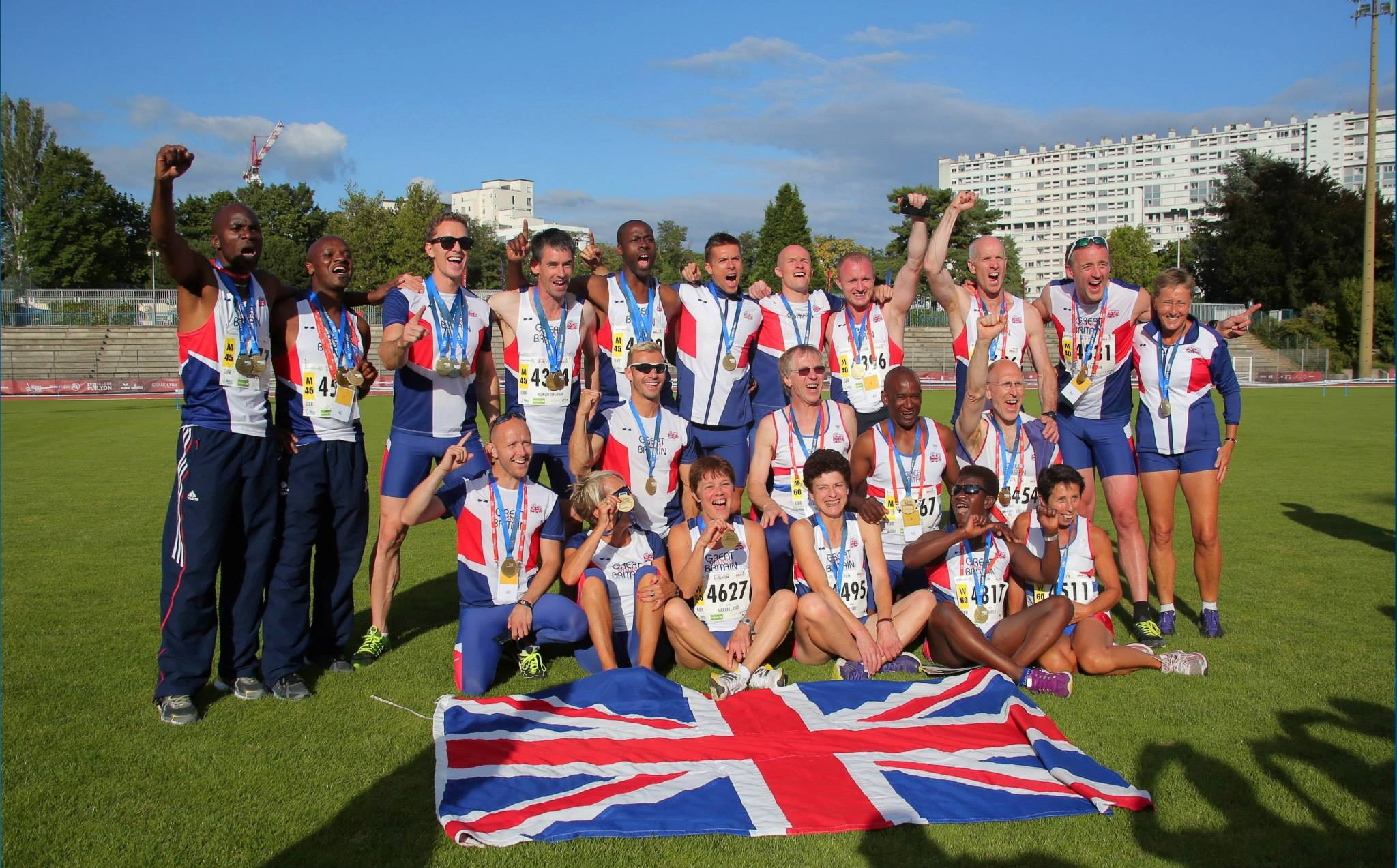 Mike With Team Gb