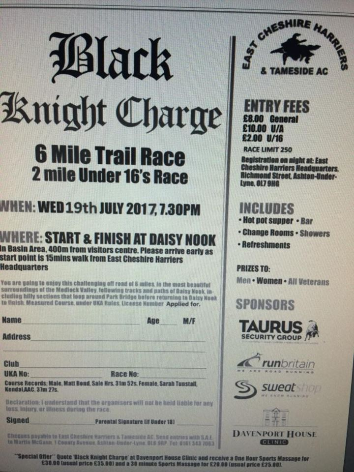 Black Knight Charge 2017
