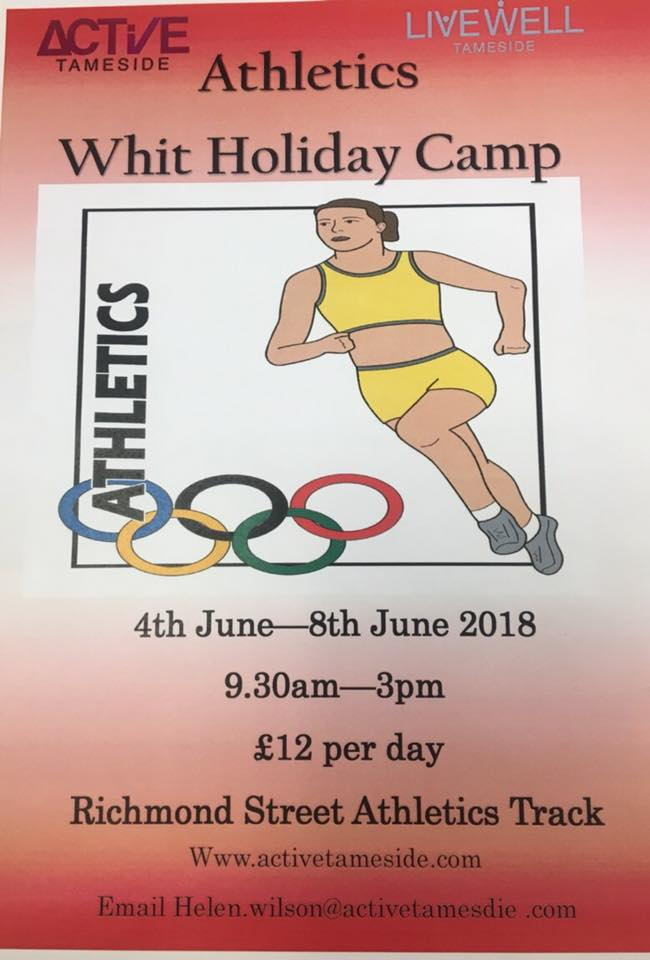 Athletics Holiday Camp